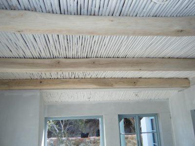 Internal reeded ceilings